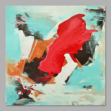 Hang-Painted öljymaalaus Maalattu - Abstrakti Taiteellinen Abstrakti Kangas