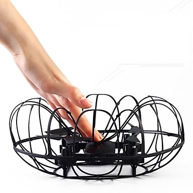 Kameralennokki S166 4CH 2 Akselin Kanssa 0.3MP HD-kamera LED-valaistus Kotiinpaluutoiminto Headless Mode - toiminto 360 Asteinen Lento
