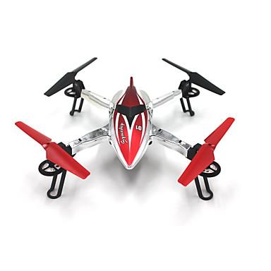 billige Fjernstyrte quadcoptere og multirotorer-RC Drone WLtoys Q212K 4 Kanaler 6 Akse 2.4G Med HD-kamera 0.3MP Fjernstyrt quadkopter FPV / LED Lys / En Tast For Retur Fjernstyrt Quadkopter / Fjernkontroll / Kamera / Feilsikker / Med kamera