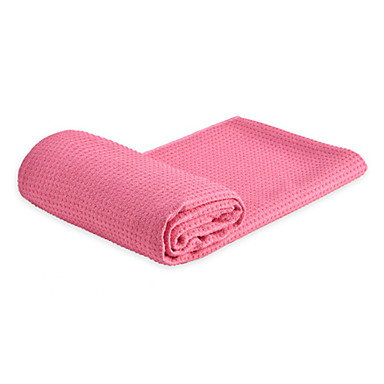 Yoga Towel Odor Free, Eco-friendly, Non-Slip, Non Toxic, Quick Dry, Super Soft, Sweat Absorbent Padded Fabric, Poly / Cotton, Fabric For Yoga / Pilates / Bikram Green, Blue, Violet
