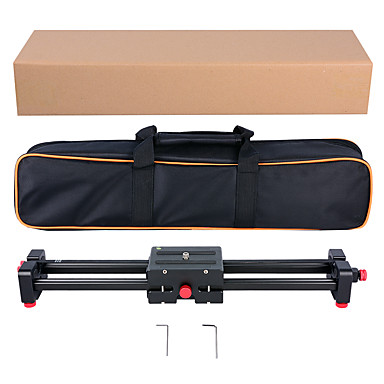 Yelangu sisäänvedettävä videokamera liukusäädin l50d dolly 50cm telaketjun stabilointiaine 100cm todellinen liukuva etäisyyskuorma 5 kg