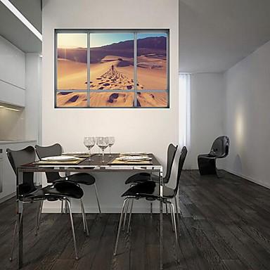 Landskap Veggklistremerker 3D Mur Klistremerker Dekorative Mur Klistermærker Materiale Hjem Dekor Veggoverføringsbilde