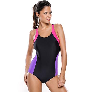 Mulheres Protecção Confortável Suave Baixa Fricção Elástico Reduz a Irritação Materiais Leves Tactel Fato de Mergulho Roupa de Banho -