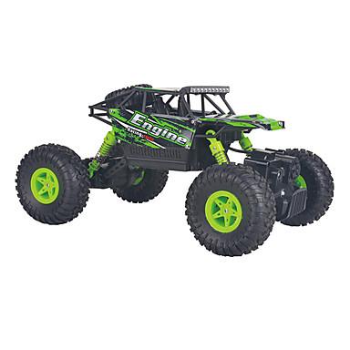 Carro com CR WL Toys 18428-B 2.4G 4WD Alta Velocidade Drift Car Off Road Car Rock Climbing Car Jipe (Fora de Estrada) 1:18 9km/h KM / H