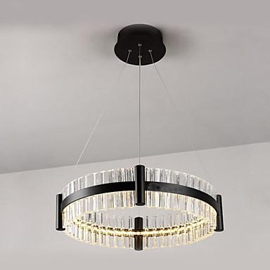 LED Chique & Moderno Moderno/Contemporâneo Cristal Luzes Pingente Luz Ambiente Para 1120lm 110-120V 220-240V Lâmpada Incluída