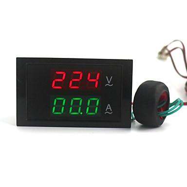 Digital Display ac dublu voltmetru ampermetru (100 ~ 300V / 0 ~ 100a)