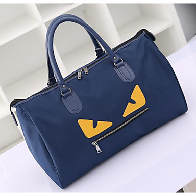 Women Bags All Seasons Oxford Cloth Polyester Travel Bag for Casual Outdoor Blue Black Purple
