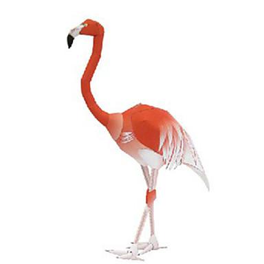 Quebra-Cabeças 3D Maquetes de Papel Artesanato de Papel Brinquedos de Montar Pássaro Animais Simulação Faça Você Mesmo Cartão de Papel