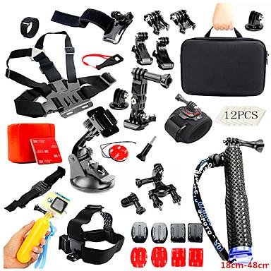 Setti / Tarvikkeet varten Toimintakamera Gopro 6 / Kaikki Action Camera / Kaikki Hiihto / Kiipeily / Universaali PVC / PC / ABS - 1 pcs