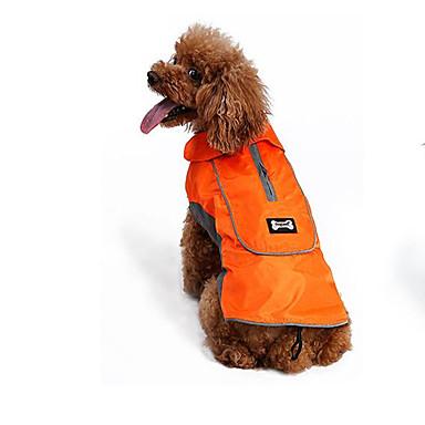 Cachorro Colete Roupas para Cães Casual Férias Fantasias Fashion Esportes Dia Das Bruxas Sólido Preto Laranja Ocasiões Especiais Para