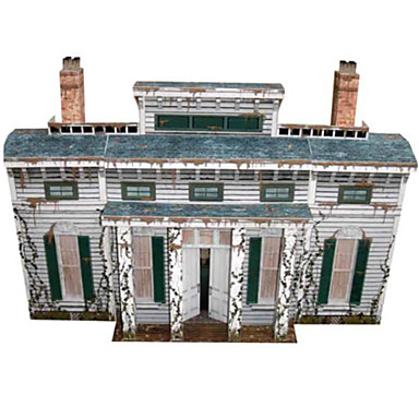 3D Puzzles Paper Model Paper Craft Model Building Kit Famous buildings Architecture Furnishing Articles DIY Classic Unisex Gift