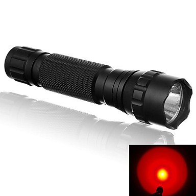 LED Flashlights / Torch LED 500 lm 1 Mode LED Portable Lighting Impact resistant Super Light Camping/Hiking/Caving Cycling/Bike Outdoor
