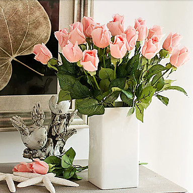 Művirágok 5 Ág Európai Rózsák Asztali virág