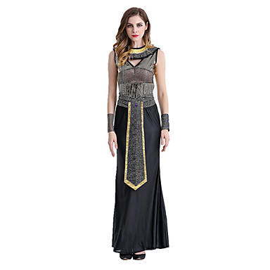 Egyptian Costume Queen Cleopatra Cosplay Costume Party Costume Women's Halloween Carnival Festival / Holiday Halloween Costumes Vintage