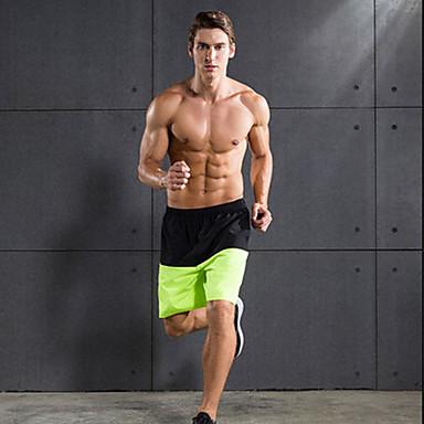 Homens Shorts de Corrida Secagem Rápida Respirável Shorts largos Calças Casual Exercício e Atividade Física Esportes Relaxantes Basquete