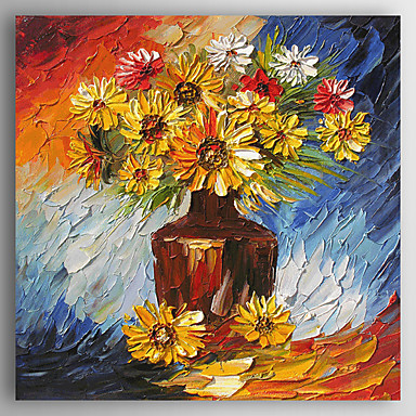Oil Painting Hand Painted - Still Life Abstract Canvas