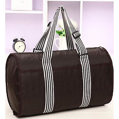 Unisex Bags Oxford Cloth Polyester Travel Bag for Casual Outdoor All Seasons Black Fuchsia Coffee