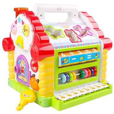 Rakennuspalikat Helmitaulu Toy Instruments Elektroninen näppäimistö Opetuslelut Lelut Hauska Muovit Pieces Lasten Lapset Syntymäpäivä