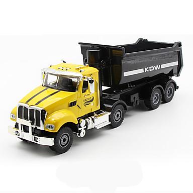 Carros de Brinquedo Brinquedos Caminhão Veiculo de Construção Brinquedos Caminhão Plásticos Liga de Metal Metal Peças Unisexo Dom