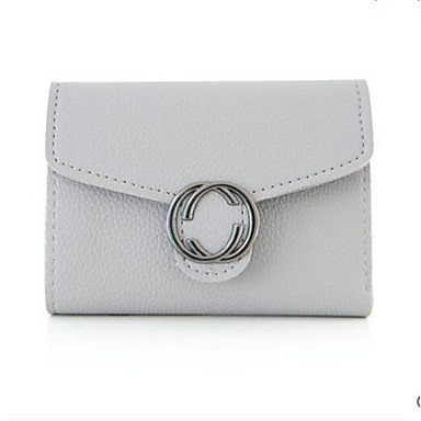 Women Bags All Seasons PU Coin Purse with for Casual Outdoor Black Blushing Pink Gray