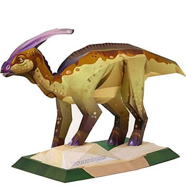 Quebra-Cabeças 3D Maquetes de Papel Brinquedos de Montar Quadrada Pato Dinossauro Faça Você Mesmo Cartão de Papel Duro Clássico todas as