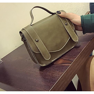 Women Bags All Seasons PU Polyester Shoulder Bag for Casual Outdoor Black Brown Arm Green