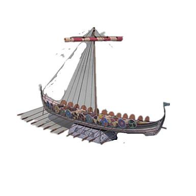 Quebra-Cabeças 3D Quebra-Cabeça Artesanato de Papel Brinquedos de Montar Navio Faça Você Mesmo Clássico Crianças Unisexo Dom