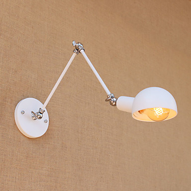 Vintage Country Swing Arm Lights For Metal Wall Light 110-120V 220-240V 60W
