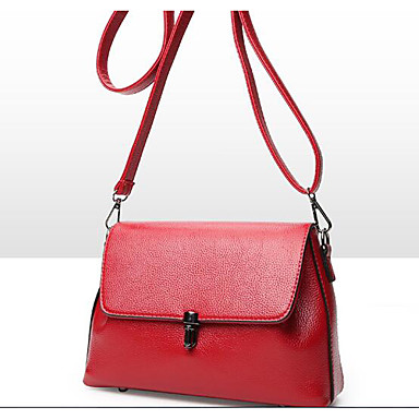 Women Bags All Seasons PU Shoulder Bag for Casual Outdoor Red Blushing Pink Gray