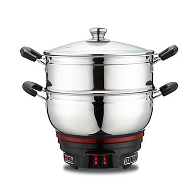 Kitchen Alumium Alloy 220V Instant Pot Food Steamers