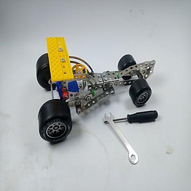 voordelige 3D-puzzels-Educatief speelgoed Automatisch verenigbaar Legoing Racewagen Unisex Jongens Speeltjes Geschenk