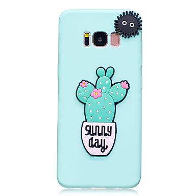 Capinha Para Samsung Galaxy S8 Plus S8 Estampada Faça Você Mesmo Capa traseira Palavra / Frase Macia TPU para S8 Plus S8 S7 edge S7