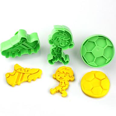 Utile Plastica Bambini Fai Da Te Torta Strumenti Cookie Strumenti Bakeware #05994275