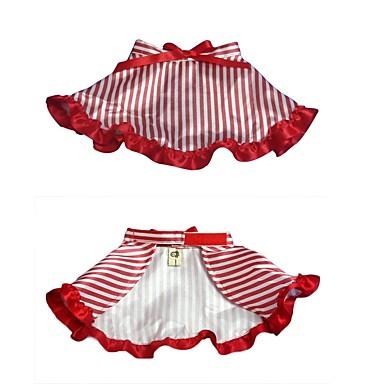 Hund Kleider Hundekleidung Streifen Stoff Kostüm Für Haustiere Lässig / Alltäglich