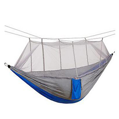 Camping Hammock with Mosquito Net Portable Breathable Ultra Light (UL) for Camping / Hiking Outdoor