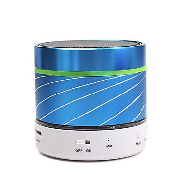 Bluetooth 2.0 3.5mm Alto-Falante Bluetooth Sem Fio Dourado Verde Preto Azul Escuro Rosa