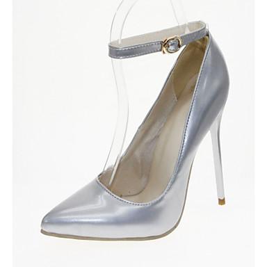 Bout Polyuréthane Talons pointu Marche Femme Aiguille Bleu à Similicuir Chaussures Printemps Eté Nouveauté Talon Confort 05992482 Chaussures BpC1wOqxp