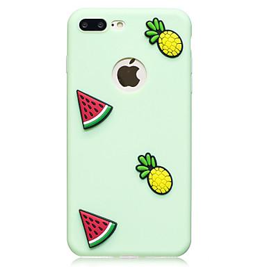 Capinha Para Apple iPhone 7 Plus iPhone 7 Estampada Faça Você Mesmo Capa traseira Fruta Macia TPU para iPhone 7 Plus iPhone 7 iPhone 6s