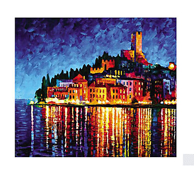 Jigsaw Puzzle Castle Famous buildings House Wooden Wood Unisex Gift
