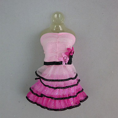 Fashion Outfit with Multiple Layers Skirt For Barbie Doll For Girl's Doll Toy
