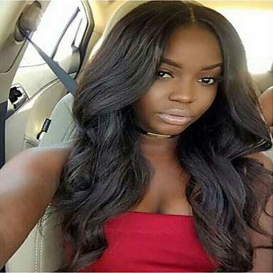 Human Hair Full Lace Wig Curly 130% Density 100% Hand Tied African American Wig Natural Hairline Short Medium Long Women's Human Hair