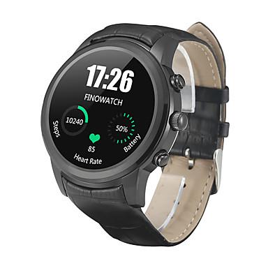 Relógio inteligente YYX5AIR para iOS / Android Monitor de Batimento Cardíaco / Calorias Queimadas / satélite / Suspensão Longa / Chamadas com Mão Livre Temporizador / Cronómetro / Podômetro / Aviso