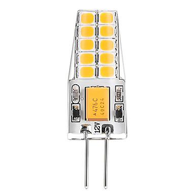 BRELONG® 3W 300lm G4 Luminárias de LED  Duplo-Pin T 20pcs Contas LED SMD 2835 Branco Quente Branco 12V