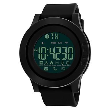 levne Vojenské hodinky-SKMEI Pánské Sportovní hodinky Vojenské hodinky Náramkové hodinky japonština Digitální Silikon Černá 50 m Voděodolné Alarm Kalendář Digitální Módní - Černá Zelená Modrá Dva roky Životnost baterie
