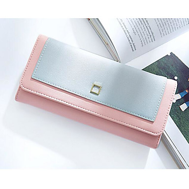 Women Coin Purse PU Polyester All Seasons Casual Outdoor Square Clasp Lock Black Blushing Pink Light Blue