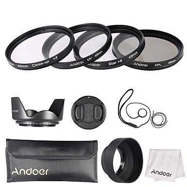 Andoer 49mm linse filter kit (uv cpl star8 nærbilde4)