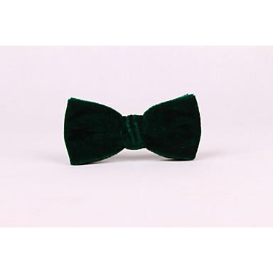 Homens Sólido Fashion Casamento Gravata Borboleta Sólido