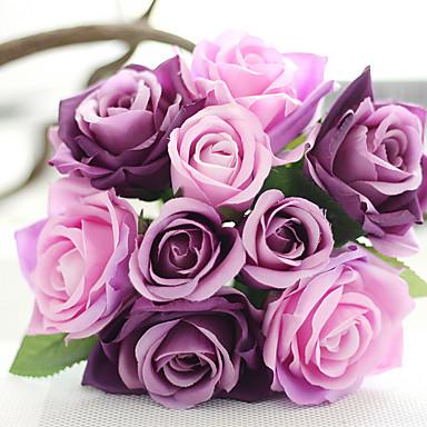 Művirágok 2 Ág Európai stílus Rózsák Asztali virág
