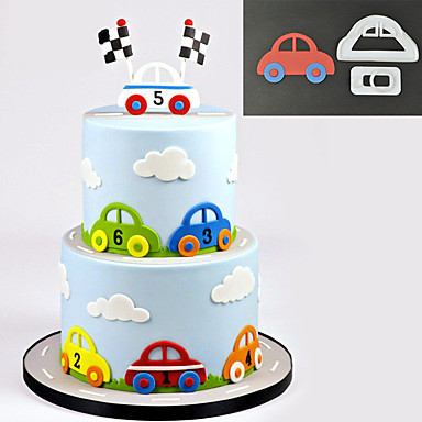 2 deler Cake Moulds Nyhet Dagligdags Brug Annen baking Tool