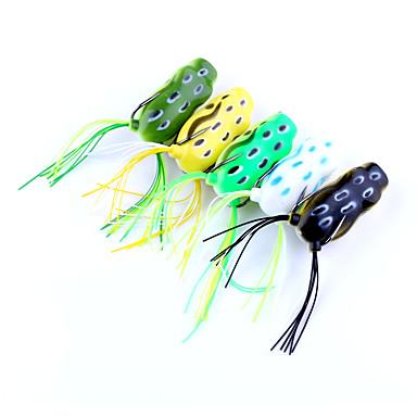 5 pcs Frog g/Ounce mm inch,Plastics Freshwater Fishing Lure Fishing General Fishing